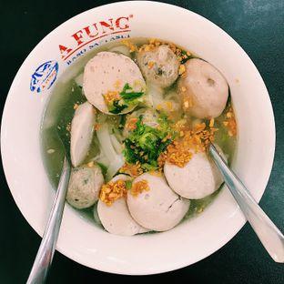 Foto 1 - Makanan di A Fung Baso Sapi Asli oleh Della Ayu