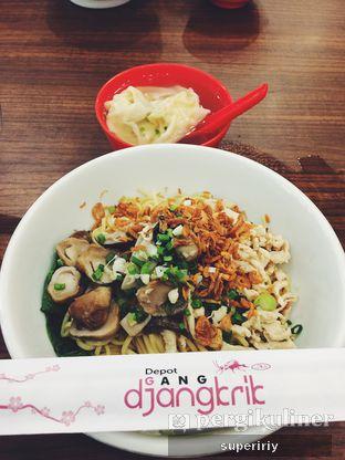 Foto 1 - Makanan(cwie mie ayam jamur) di Depot Gang Djangkrik oleh @supeririy