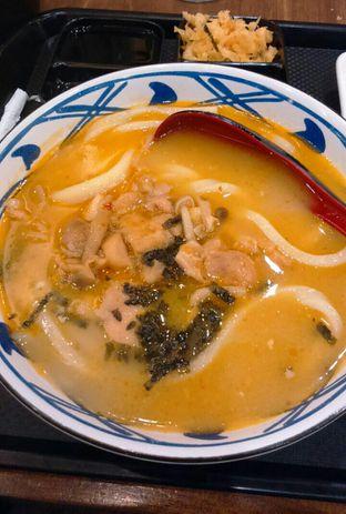 Foto 1 - Makanan(Spicy Tori Baitan Udon ) di Marugame Udon oleh Annti Nursanti