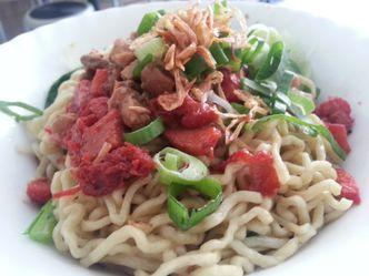 Foto Makanan di Bakmi Keriting Medan