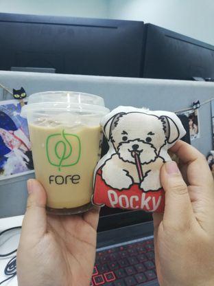 Foto 1 - Makanan(Ice Honey Latte) di Fore Coffee oleh Pocky's Gourmets • @pockygurume