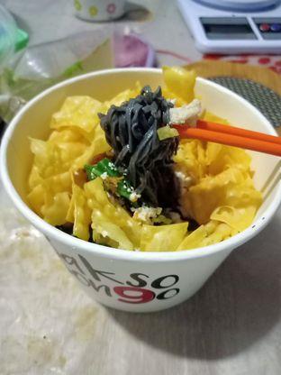 Foto - Makanan(Mie Hitam) di Bakso Son9o oleh Florentine Lin