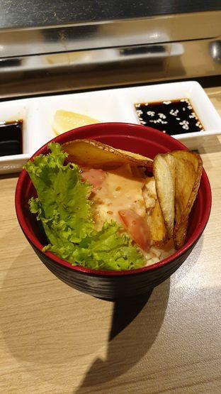 Foto 2 - Makanan(potato salad) di WAKI Japanese BBQ Dining oleh Oemar ichsan