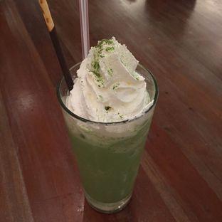Foto 2 - Makanan(Green Tea Frappe) di Giggle Box oleh @kulineran_aja