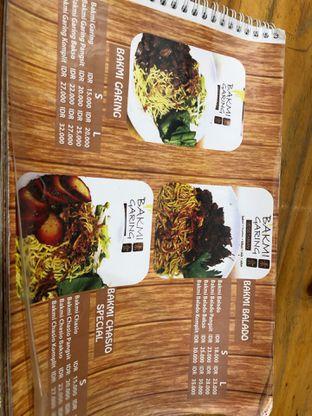 Foto 3 - Menu di Vegetarian Bakmie Garing H-P (Hot Pedas) oleh Jeniffer Gracellia