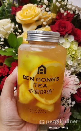 Foto review Ben Gong's Tea oleh William Wilz 2