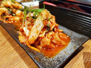 Foto 5 - Makanan(Assorted kimchi ) di WAKI Japanese BBQ Dining oleh foodstory_byme (IG: foodstory_byme)