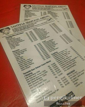 Foto Menu di Santiga Seafood
