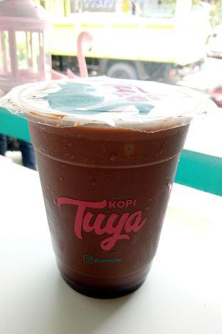 Foto 2 - Makanan(Es Coklat Raspberry) di Kopi Tuya oleh maysfood journal.blogspot.com Maygreen