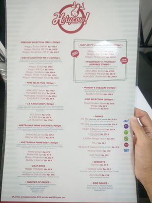 Foto 4 - Menu di Holycow! STEAKHOUSE by Chef Afit oleh Chris Chan