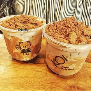 Foto 2 - Makanan(Biscuit Milk Tea & Biscuit Ovaltine) di KOI The oleh duocicip