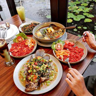 Foto Makanan di Dermaga Makassar Seafood