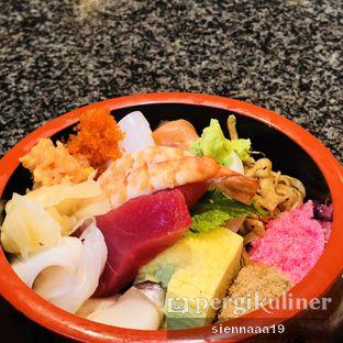 Foto 1 - Makanan(chirashi sushi 1.5 portion teishoku) di Sushi Sei oleh Sienna Paramitha