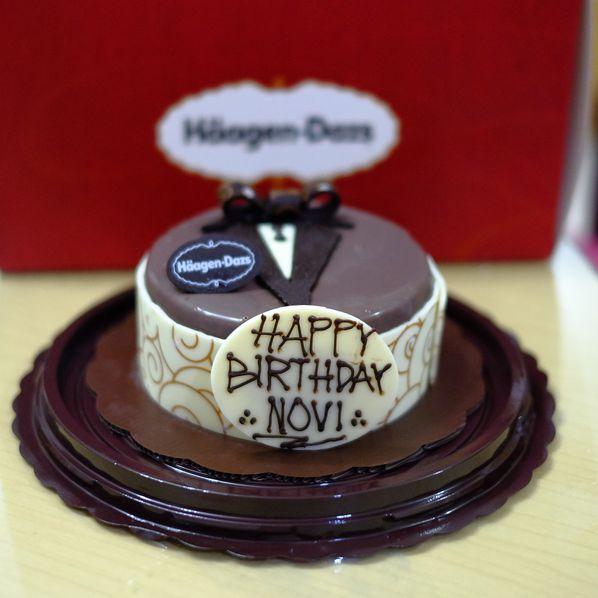 Sensational Birthday Cake Review Novi Ps Di Restoran Haagen Dazs Tebet Personalised Birthday Cards Akebfashionlily Jamesorg
