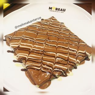 Foto - Makanan(Crepes Chocolate Small) di MOREAU Chocolatier's Cafe oleh Femmy Monica Haryanto