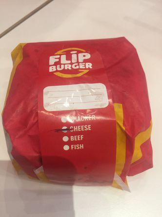 Foto Makanan di Flip Burger