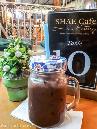 Foto 2 - Makanan(Iced Choco Tea) di Shae Cafe and Eatery oleh Anggriani Nugraha