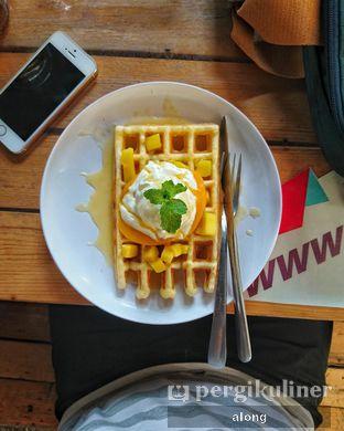 Foto - Makanan(MANGGO WAFFLE) di Many Pany Pancake & Waffle oleh #alongnyampah