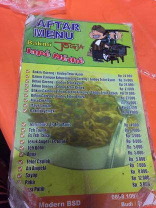 Foto 3 - Menu di Bakmi Jogja Jape Methe oleh Yohanacandra (@kulinerkapandiet)
