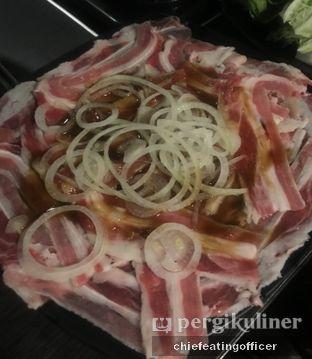 Foto 1 - Makanan(New Zealand Beef) di PSY Steamboat Yakiniku oleh Cubi