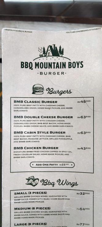 Foto Menu di BBQ Mountain Boys
