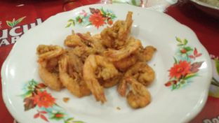 Foto 2 - Makanan(Udang goreng tepung) di Seafood Mas Gondrong oleh zelda