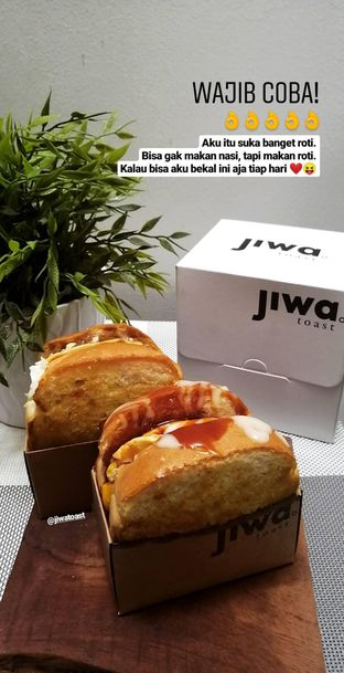 Foto 1 - Makanan(Creamy Shroom, Spicy Bulgogi ) di Kopi Janji Jiwa oleh Oryza Dewi