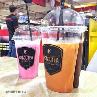 Foto 1 - Makanan(Thai Tea, Dark Chocolate, Red Milk) di Boboutea oleh @kulineran_aja