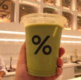 Foto Matcha Latte 12oz (59k) di %Arabica