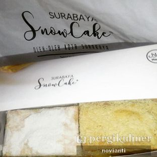Foto 1 - Makanan(Vaniila & Cheese ½) di Surabaya Snow Cake oleh Ika Novianti @ika.yap