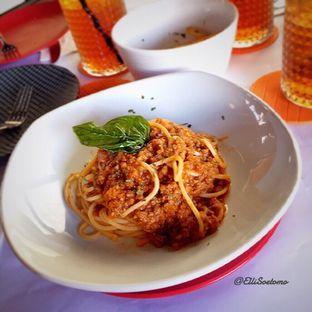 Foto 4 - Makanan(Spaghetti Bolognese) di Abraco Bistro & Bar oleh Elli  Soetomo
