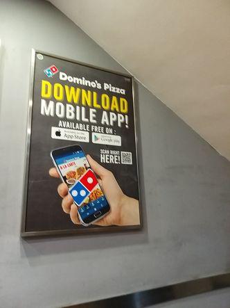 Foto Interior di Domino's Pizza