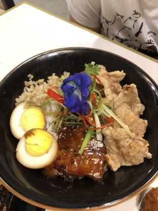 Foto 7 - Makanan(Triple pork rice bowl) di Lucky Number Wan oleh Patricia.sari