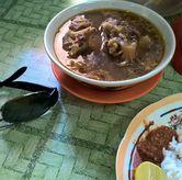 Foto The legend tail soup di Rujak Cingur dan Sop Buntut Genteng Durasim