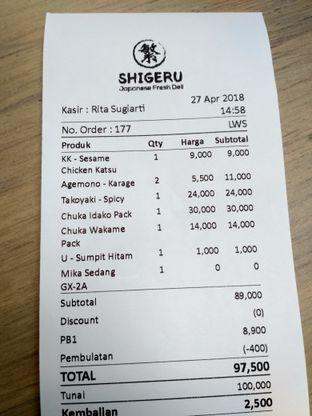 Foto review Shigeru oleh Stella Griensiria 1