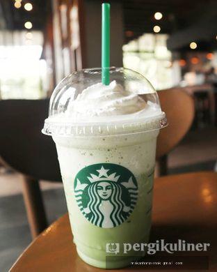 Foto - Makanan(Green Tea Frappuccino® Blended Crème) di Starbucks Coffee oleh Makan Harus Enak @makanharusenak