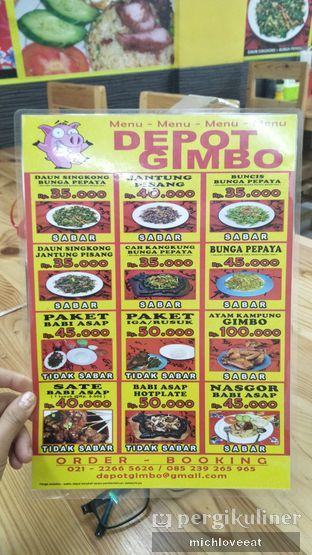 Foto 10 - Menu di Depot Gimbo Babi Asap oleh Mich Love Eat