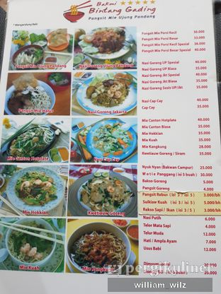 Foto 4 - Menu di Bakmi Bintang Gading oleh William Wilz