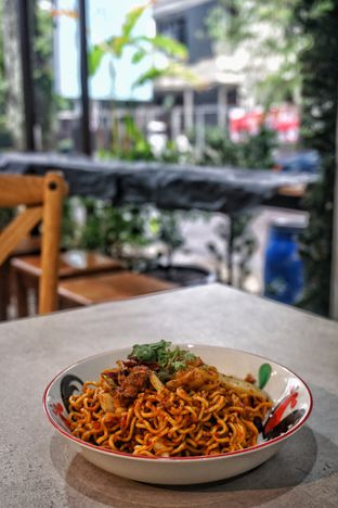 Foto 1 - Makanan(Tumis Mala Kering) di Mie & Baso Paris oleh Fadhlur Rohman