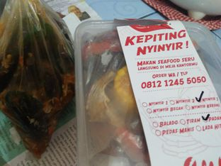 Foto 1 - Makanan di Kepiting Nyinyir oleh Review Dika & Opik (@go2dika)