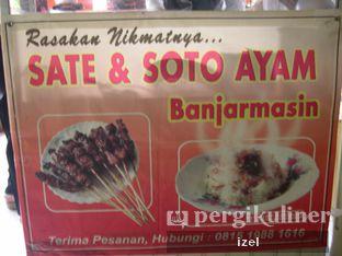 Foto 1 - Makanan di Sate & Soto Ayam Banjarmasin oleh izel / IG:Grezeldaizel