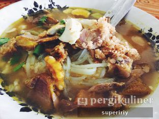Foto 1 - Makanan di Soto Ayam Kampung Cak Mu'in oleh @supeririy