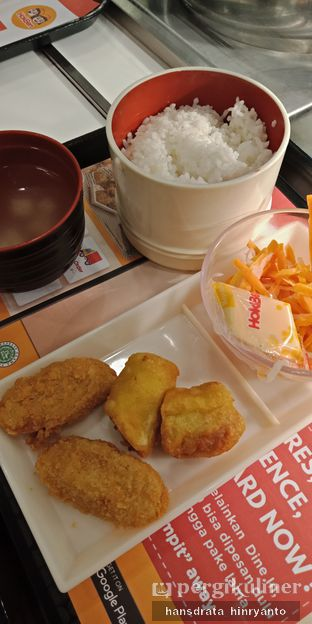 Foto - Makanan di HokBen (Hoka Hoka Bento) Delivery oleh Hansdrata.H IG : @Hansdrata