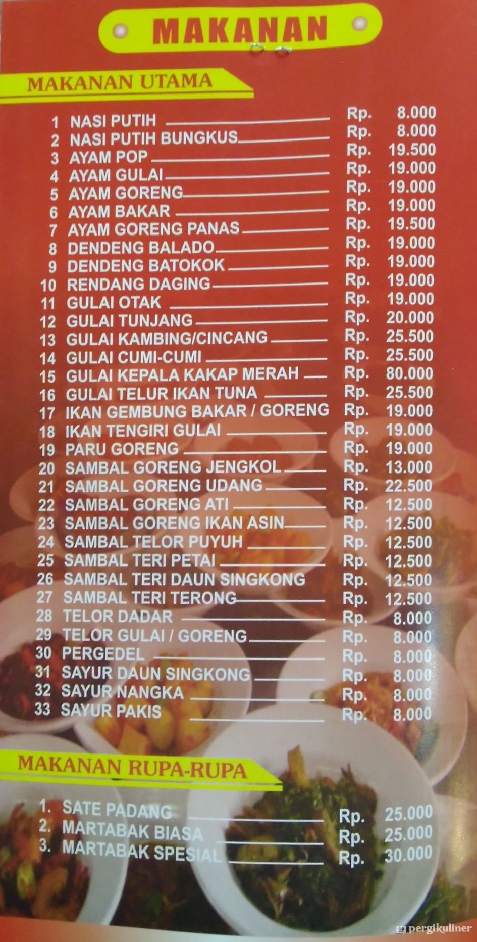 Selalu Diperbarui Menu Restoran Sederhana Sa Sambikerep Surabaya