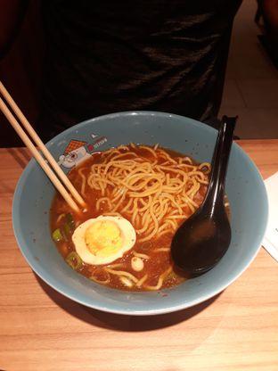 Foto 2 - Makanan(Beef Teriyaki Ramen (udah dicampur saus n dimakan sebagian 😅)) di Ichiban Sushi oleh Lely08