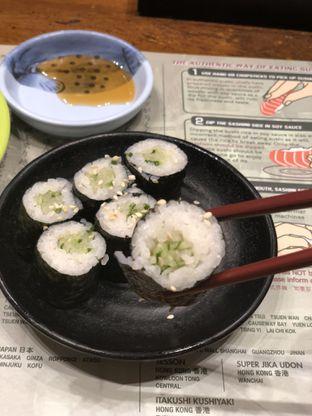 Foto 2 - Makanan(Cucumber Roll ) di Itacho Sushi oleh YSfoodspottings