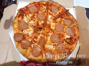 Foto review Domino's Pizza oleh Fransiscus  3
