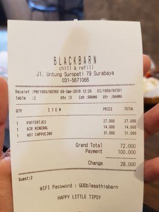 Foto 4 - Menu di BlackBarn Coffee oleh Amrinayu