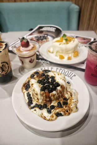Foto 1 - Makanan(Milk tea pancake boba and cream cheese) di Belle Epoque oleh Stellachubby