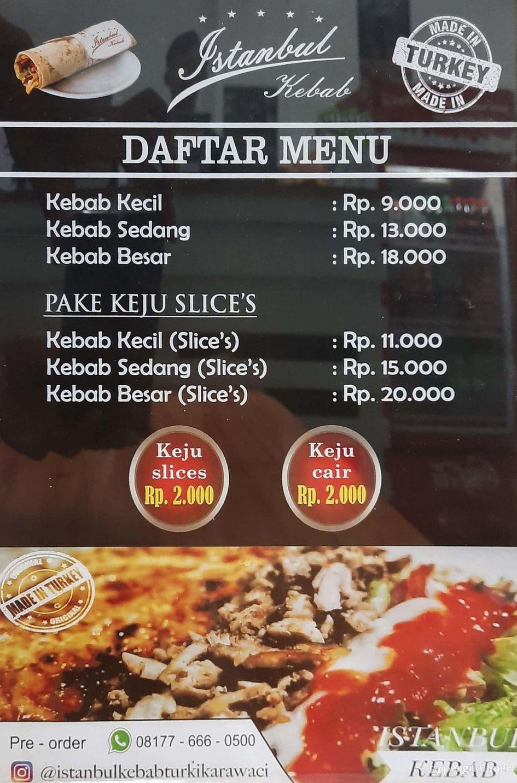 Selalu Diperbarui Menu Istanbul Kebab Karawaci Tangerang